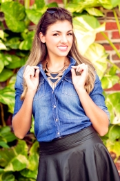 For details of this look go to https://lookchicblog.com/2015/10/01/denim-shirts/