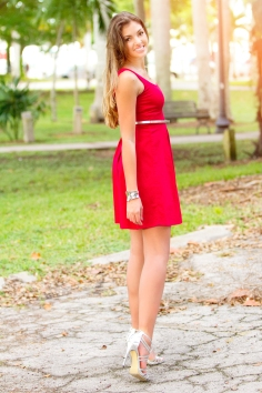For details of this look go to https://lookchicblog.com/2015/11/10/red-dress/