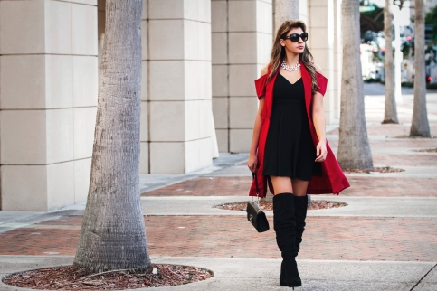 For details of this look go to https://lookchicblog.com/2017/11/27/boot-season-venus-shoedazzle/